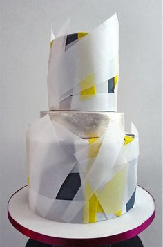 One of a kind, custom made wedding cakes from Olofson Design