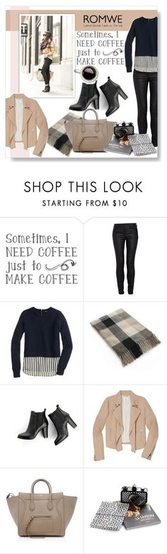 """""""Untitled #297"""" by katienochvay ❤ liked on Polyvore featuring Morgan, J.Crew, SWEET MANGO, Wilfred and CÉLINE"""