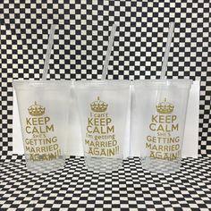 Vasos single personalizados #keepcalm