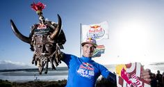 UK pro kiteboarder, Aaron Hadlow has taken the Red Bull King of the Air throne at Big Bay in Cape Town, South Africa as he wins the 2015 King of the Air! Big Bay, Cape Town, Red Bull, King, Sport, Kitesurfing, South Africa, Image, Deporte