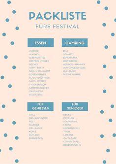 Wir haben die ultimative Festival Packliste zusammengestellt. Damit könnt ihr euren Festivalsommer in vollen Zügen genießen und seid perfekt vorbereitet!