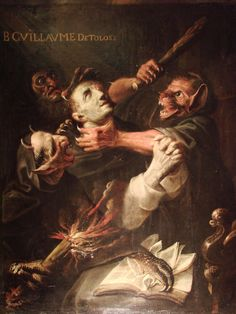 Ambroise Frédeau - The Blessed Guillaume de Toulouse Tormented by Demons. 1657