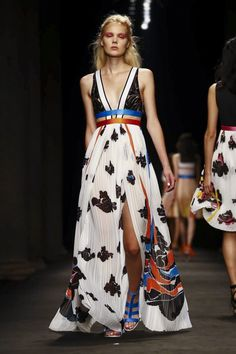 Byblos Fashion Show Ready to Wear Collection Spring Summer 2017 in Milan