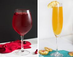Light Cocktails! From Lexiscleankitchen.com