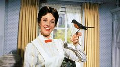 Dame Julie Andrews told she was `far too pretty´ to play Mary Poppins Walt Disney Mary Poppins, Mary Poppins Movie, Mary Poppins 1964, Disney Song Lyrics, Disney Songs, Disney Movies, Disney Nerd, Disney Quotes, Disney Princess