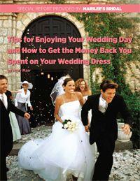 Tips For Enjoying Your Wedding Day