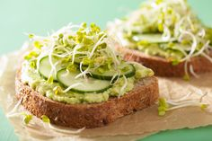 Buy healthy avocado toast with cucumber radish sprouts by duskbabe on PhotoDune. healthy avocado toast with cucumber radish sprouts Avocado Toast, Avocado Bread, Radish Sprouts, Light Sandwiches, Healthy Sandwiches, Best Breakfast Sandwich, Breakfast Toast, Healthy Snacks