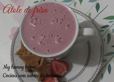 ATOLE DE FRESA | ~Honey home~
