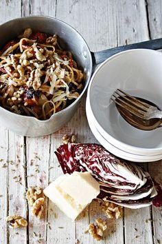 One Pot Pasta mit Radicchio © Petit Gateau