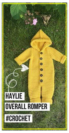 Baby Dungarees Pattern, Crochet Baby Cardigan Free Pattern, Crochet Onesie, Baby Romper Pattern, Baby Sweater Patterns, Newborn Crochet, Baby Patterns, Crochet Patterns, Crochet Baby Clothes Boy
