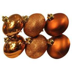 Onion Ornament in Copper (Set of 6)