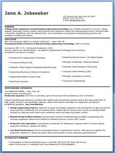 entry level aerospace engineer resume sample creative resume