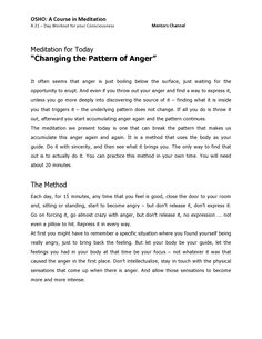 day 3 - page 1 of 2- A Course in Meditation