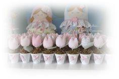 Quadro de maternidade e lembrancinhas - Dellicatess for Babies