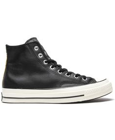CONVERSE - CHUCK TAYLOR ALL STAR HIGH 1970 LEATHER (BLACK/BLACK)