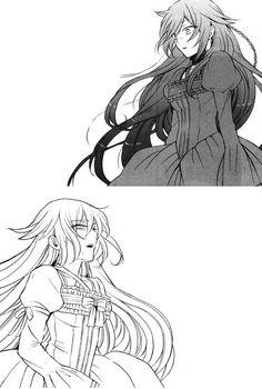 Alice x Aliss# by Pandora hearts manga.