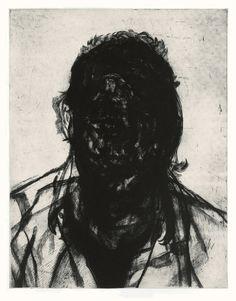 "<span class=""artist""><strong>Glenn Brown</strong></span>, <span class=""title""><em>Layered Portrait (after Lucian Freud) 6</em>, 2008</span>"