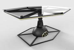 TIE Fighter Table Has Been Imaginarily Repurposed After Intergalactic Wars