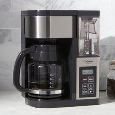 Zojirushi Fresh Brew Plus 12-cup Coffee Maker - Crate and Barrel