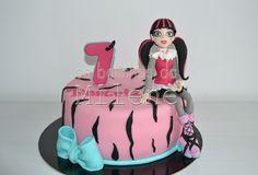 . . : | Cake Pops Portugal | : . . Os Bolinhos da Milene: Monster High Draculaura
