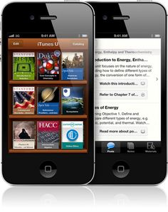 The new iTunes U app puts complete courses from universities and other schools — and the world's largest online catalog of free education content — right on the device you use every day.