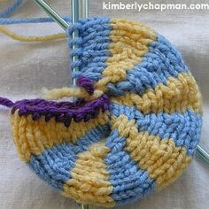 Knitting Rings With Double-Pointed Needles