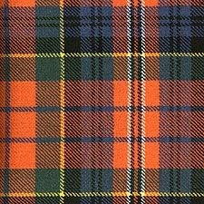 """Macpherson Red Ancient Tartan. Years ago, I was given a kilt with this pattern as a gift from a distant relative. It's one of my few """"prized"""" possessions."""
