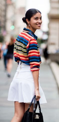 Street Style Stripes | Spring 2013 Trend