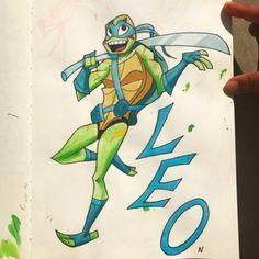 Ninja Turtles Art, Teenage Mutant Ninja Turtles, Tmnt Leo, Tmnt 2012, Fan Art, Pictures To Draw, Character Art, Drawings, Artwork