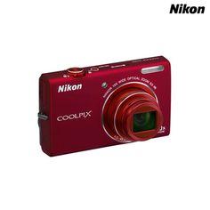 Nikon COOLPIX S6200 Digital Camera with 10x Optical Zoom & 4x Digital Zoom