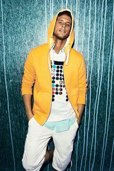 Reserved Yellow Hoodie - Summer Menswear