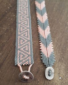 Cool Friendship Bracelets, Seed Bead Bracelets, Seed Bead Jewelry, Loom Bracelet Patterns, Beaded Jewelry Patterns, Loom Patterns, Peyote Stitch Tutorial, Bead Loom Designs, Rope Jewelry