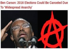 Dr. Ben Carson's Dire Warning! 2016 Elections Cancelled - Obama 'President For Life'! | U. S. Politics
