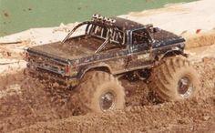 Bigfoot in the Mud