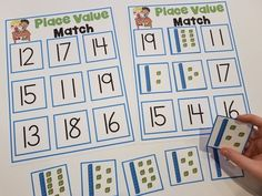 Place Value Centers for Kindergarten