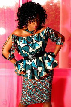 Model Pagne Africain, Robe Africaine, Vetement Wax, Ensemble Pagne, Tenue  Élégante, bca741f4ca7
