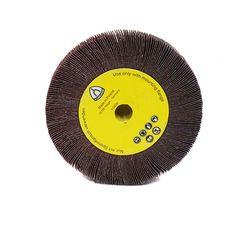 "1/"" Wi... Tru-Maxx 6/"" Diam 320 Grit Aluminum Oxide Unmounted Flap Wheel 1/"" Hole"