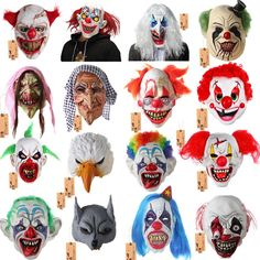 Enthusiastic Halloween Scary Caps Full Head Party Frighten Skull Mask High Quality Realistic Horror Cosplay Props Toy Hideous Accessory Men's Skullies & Beanies
