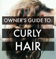 Owner's Guide to Curly Hair: Celebrity Hairstylist Explains What You Should Do