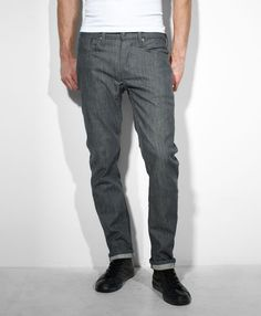 Levi's 511 Grey Slim Fit Commuter Jeans