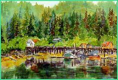 Cabin rentals - Lodging in Halibut Cove near Homer, Alaska. Halibut Fishing, Homer Alaska, Northern Exposure, Boat Tours, Kayak Fishing, Cabin Rentals, Cabins, Kayaking, Places Ive Been