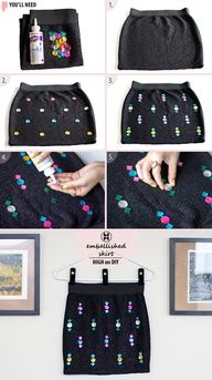 DIY Jewel Embellishments Love this!