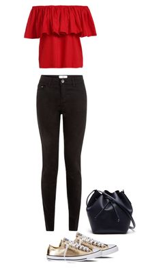 """""""Untitled #28"""" by sarlota-krulisova on Polyvore featuring Converse, New Look and Lacoste"""