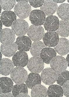 Black and white flower pattern | Emily Tobias, November 2010