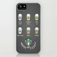 Starbucks on the Board... iPhone & iPod Case by Kate