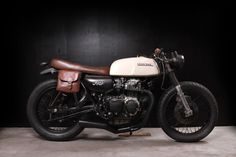 "The ""Smooth Criminal"", custom Honda CL160 by The Tarantulas custom shop."