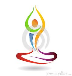 Yoga mental peace pose in chakra colors Peace Plant, Muse Meditation, Custom Logo Design, Graphic Design, Globe Logo, Yoga Logo, Chakra Colors, People Logo, Silhouette Vector