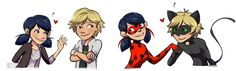 Miraculous Tales Of Ladybug And Cat Noir - Marinette and Adrien