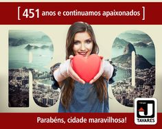 Nossa homenagem à cidade maravilhosa que completa hoje 451 anos de grandes conquistas. Feliz aniversário, cidade maravilhosa. Feliz aniversário, cariocas! #RJ #errejota #rio451anos #rio451 #birthday #rio