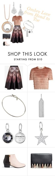 """Ombre Baby!"" by myoocharm on Polyvore featuring Ted Baker, Raey, Nine to Five, Rebecca Minkoff, ombre and 60secondstyle"
